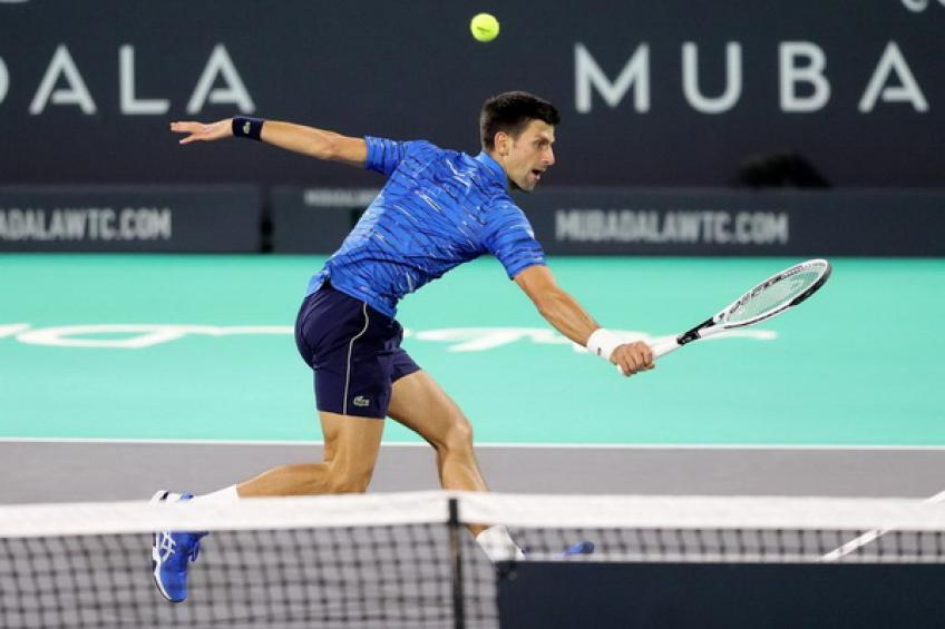 Novak Djokovic plans to compete in Abu Dhabi by the end of career