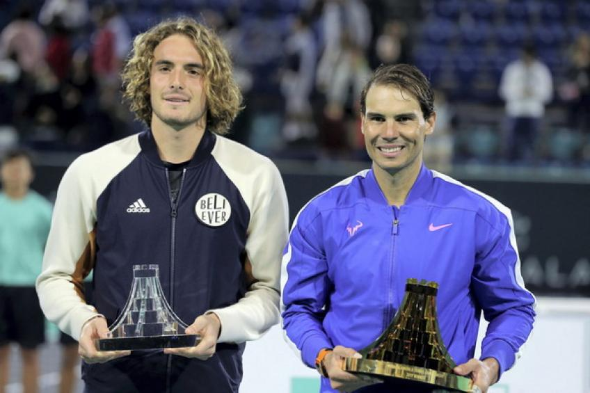 Rafael Nadal recalls: 'I'm holding another trophy 15 days after winning Davis Cup'
