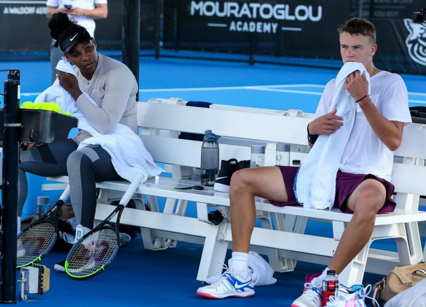 Holger Rune on Training Camp with Serena Williams: 'She is sweet'