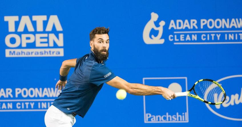 Benoit Paire Set to Play in Pune and not Montpellier in Early Feb