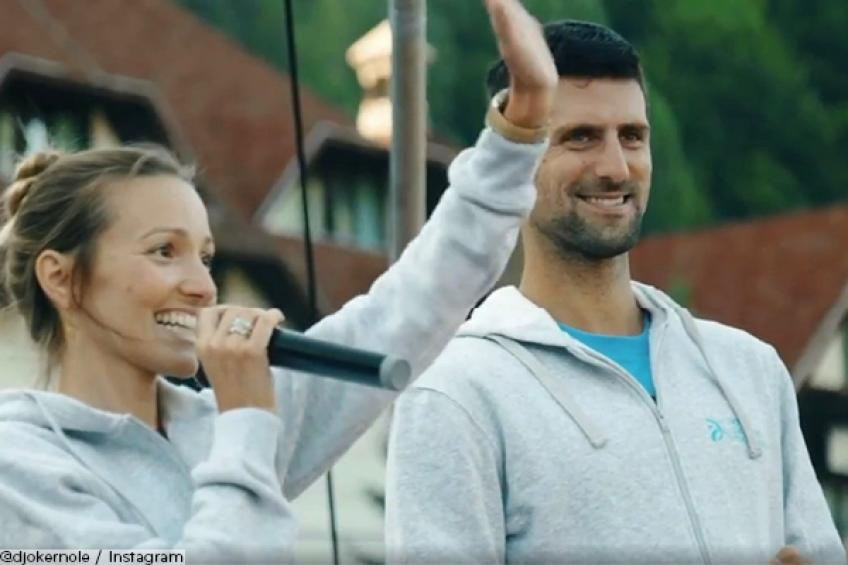 Novak Djokovic and wife are grateful for Facebook and Instagram