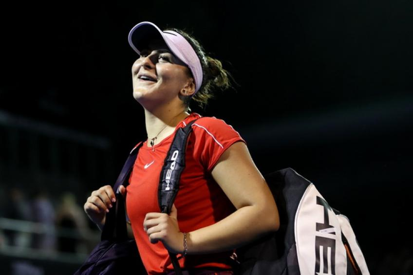 Bianca Andreescu withdraws from ASB Classic with ongoing knee injury