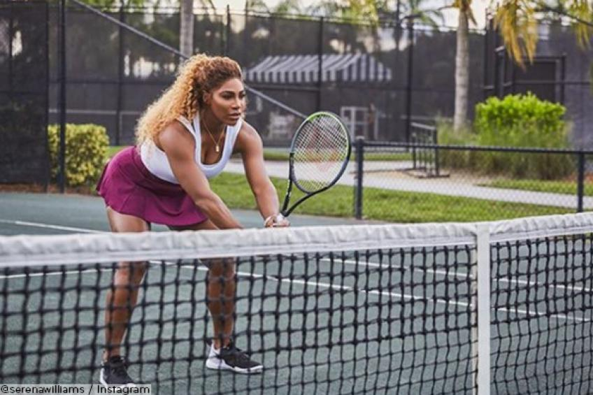 Serena Williams' ponytail, the hairstyle trend of 2020