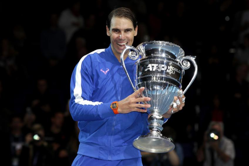 Rafael Nadal wins L'Equipe World Champion of Champions award