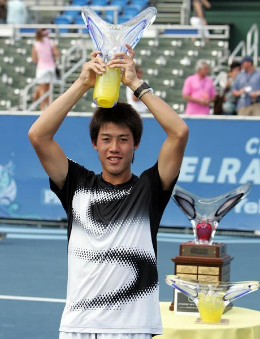 Kei Nishikori: Winning my first title at 18 gave me huge confidence