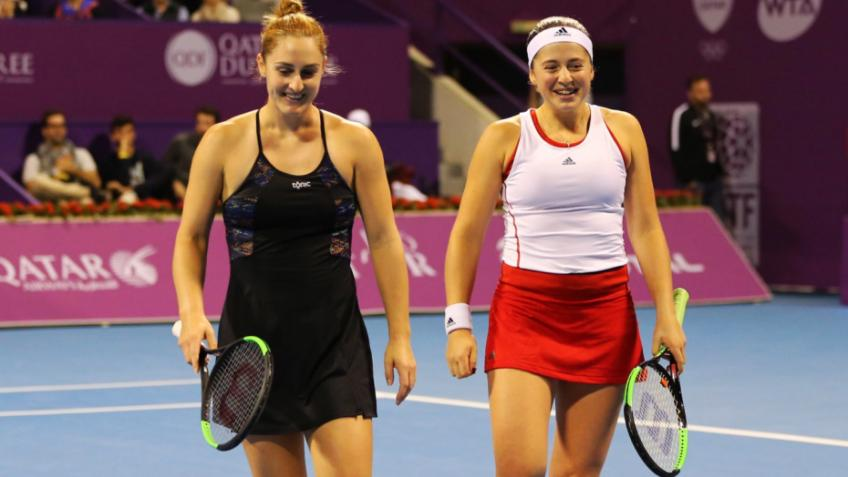 Gabriela Dabrowski and Jelena Ostapenko team up ahead of 2020 season
