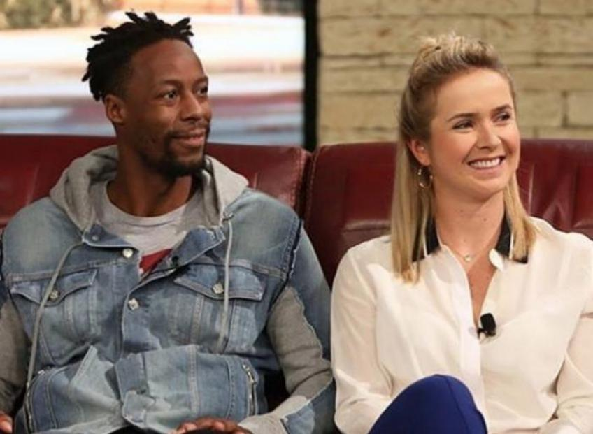 Gael Monfils and Elina Svitolina Welcomed in Brisbane
