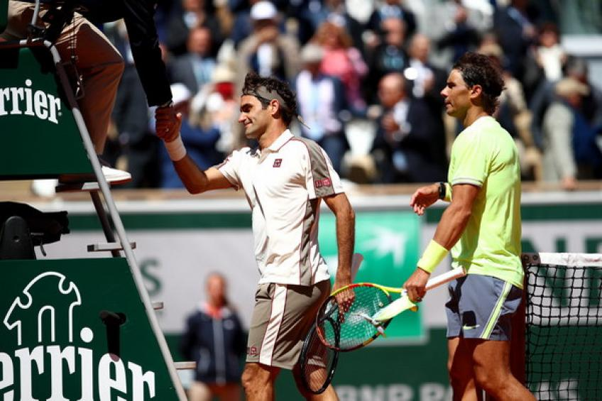 Rafael Nadal: 'It was great to face Roger Federer at Roland Garros'