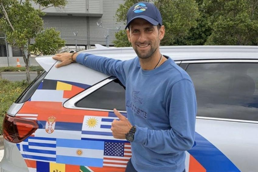 Novak Djokovic expects support and fun at the inaugural ATP Cup