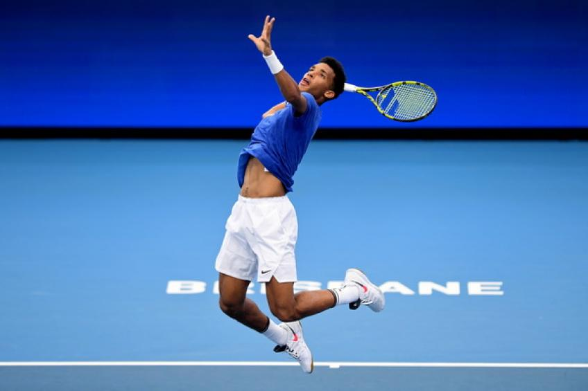 Felix Auger-Aliassime feels confident after winning start at the ATP Cup