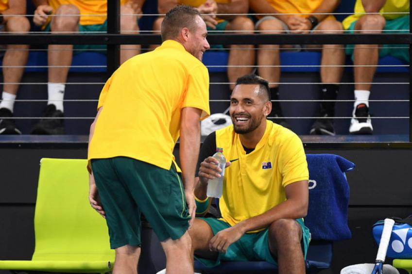 ATP Cup: Nick Kyrgios and Alex de Minaur topple Germany to shine at home