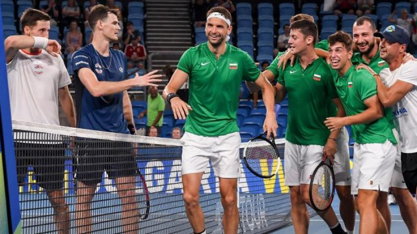 "Grigor Dimitrov: ""I'm just really proud of the boys"""