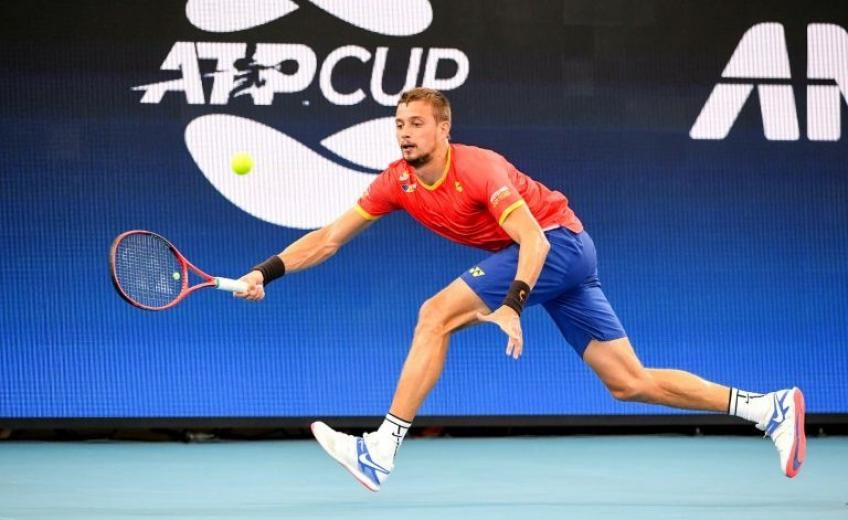 Alexander Cozbinov: 'I've never played with that many people watching'