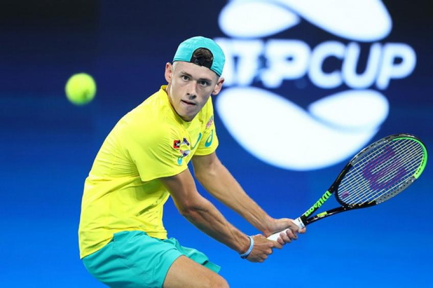 Alex de Minaur: 'Zverev played too good in the first seven games before I..'
