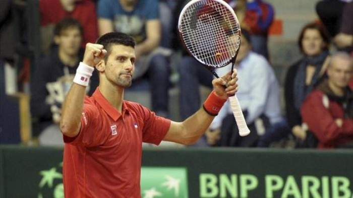 Davis Cup - Serbia take a 2-0 lead over Belgium