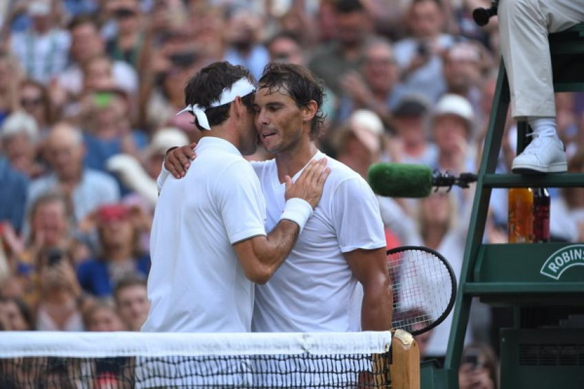 Rafael Nadal: 'I never think about Roger Federer's 20 Major titles'
