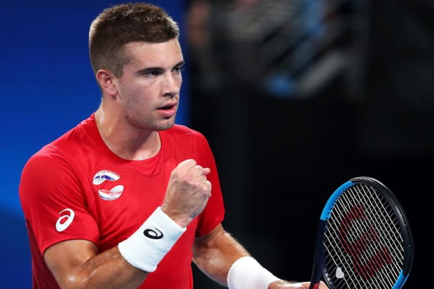 ATP Cup: Borna Coric beats Dominic Thiem in Croatia's triumph over Austria