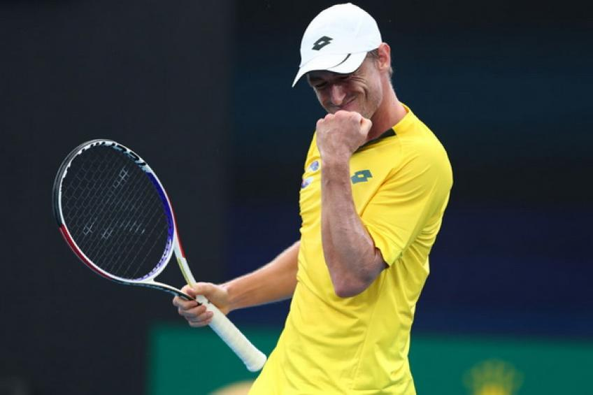 John Millman reflects on massive win over Felix Auger-Aliassime at home