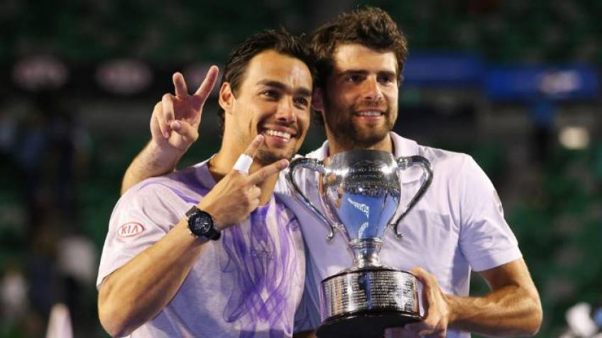 Simone Bolelli: I feel confident whenever I play together with Fabio Fognini