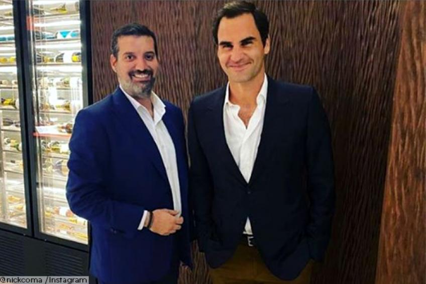 Roger Federer relaxes in luxury Dubai restaurant while ATP Cup unfolds