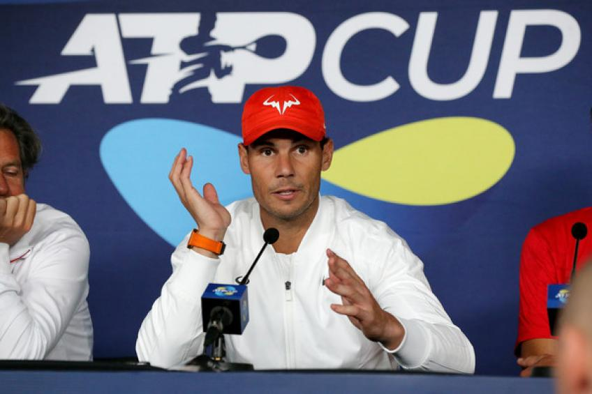 Rafael Nadal: 'We have to give our 100% against Uruguay, as always'