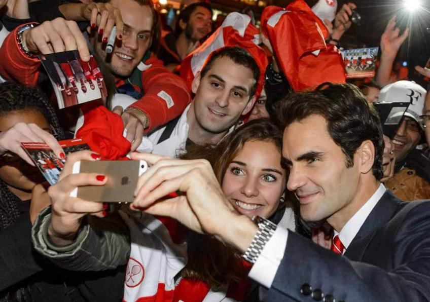 Fans miss Roger Federer and impatiently wait for his return