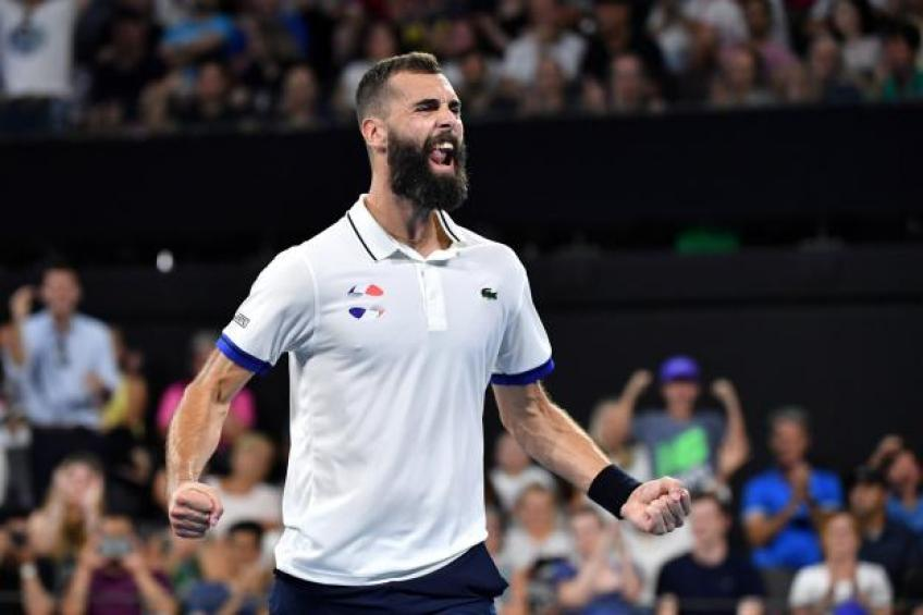 "Benoit Paire: ""It was very important for me to stay focussed for the team"""