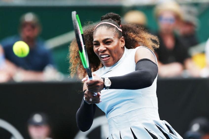 Auckland: Happy New Year, says Serena Williams with 2020's first win