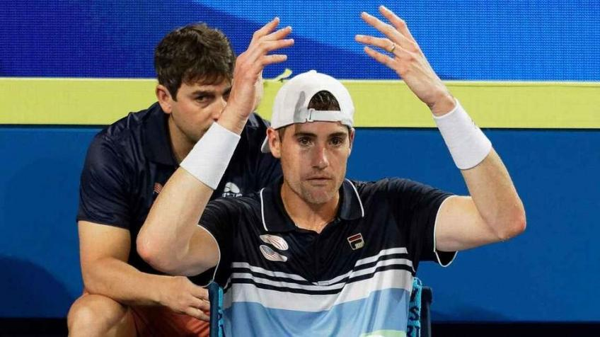 John Isner reflects on Fabio Fognini loss at ATP Cup