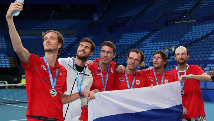 "Medvedev and Khachanov: ""We are looking forward to playing next matches in Sydney"""