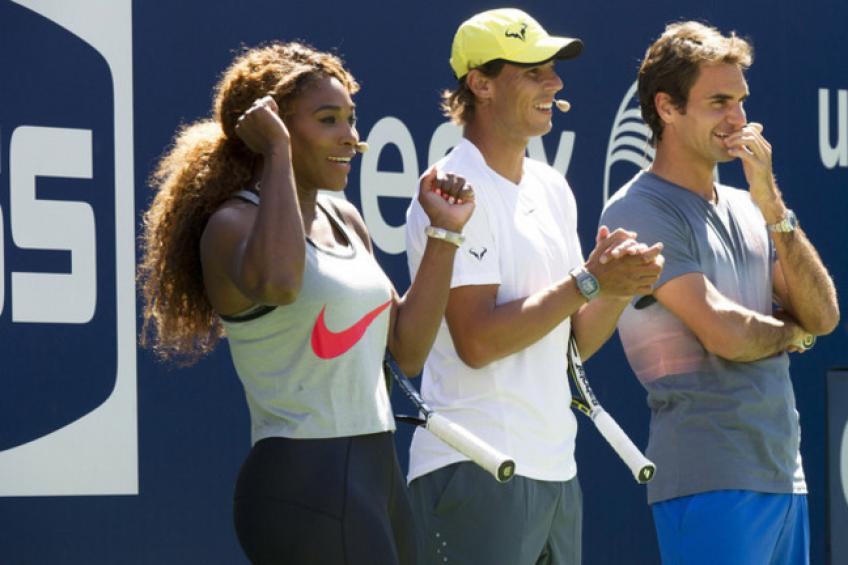 Roger Federer, Rafael Nadal & Serena Williams to Headline Charity Event for Bushfires