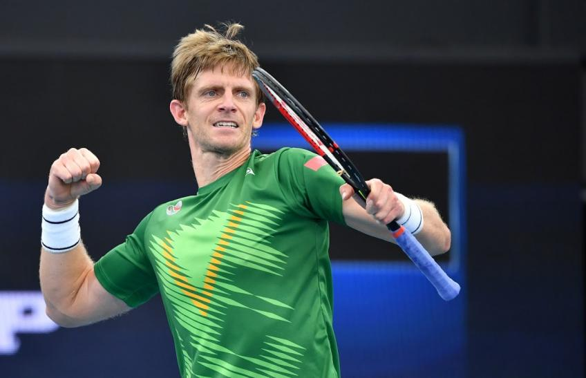 "Kevin Anderson: ""I'm really happy, I got a little bit lucky"""