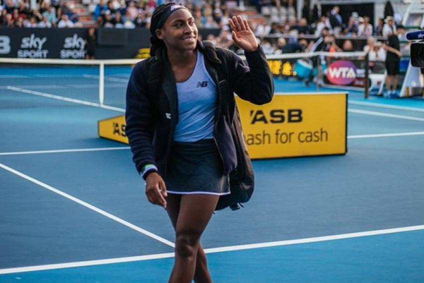 Cori Guaff misses a chance to meet idol Serena Williams in Auckland