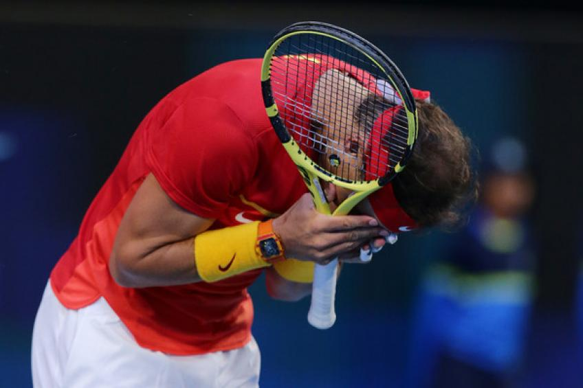 ATP Cup: David Goffin sinks Rafael Nadal to keep Belgium alive