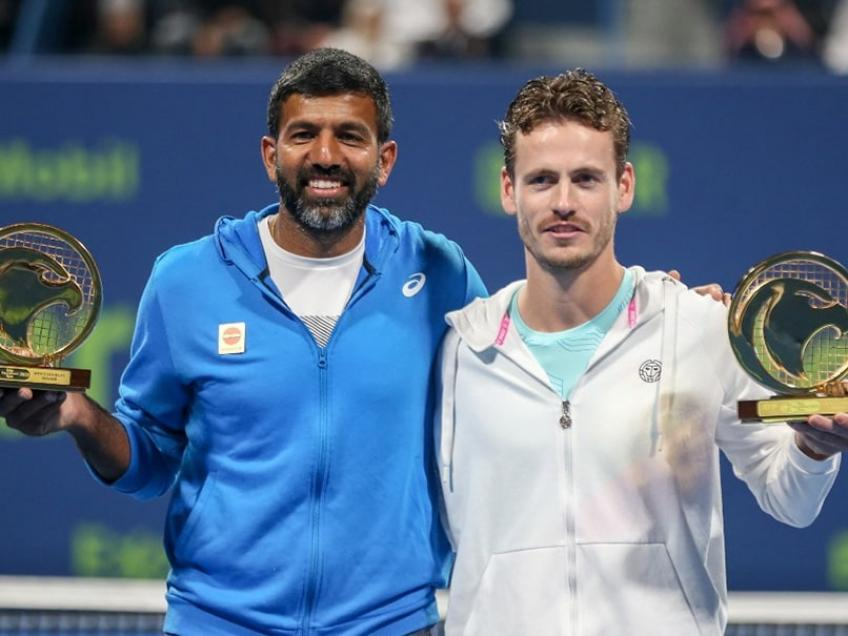ATP Doha: Rohan Bopanna & Wesley Koolhof win title in team debut