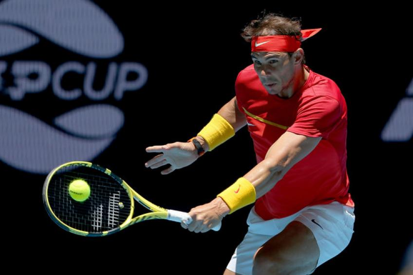 Rafael Nadal blasts organizers despite reaching ATP Cup semi-final