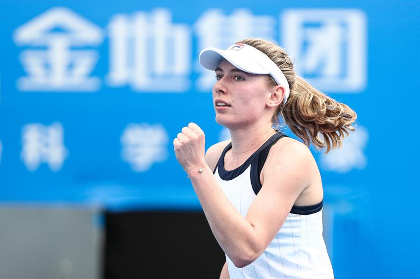 Ekaterina Alexandrova wins Shenzhen Open for first WTA Tour title