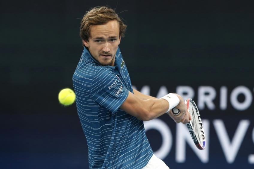 Daniil Medvedev: I'm not that far but I have to continue to work hard