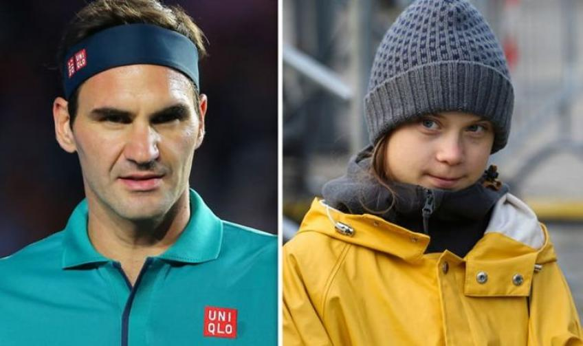 Roger Federer breaks the silence after Greta Thunberg's accusations