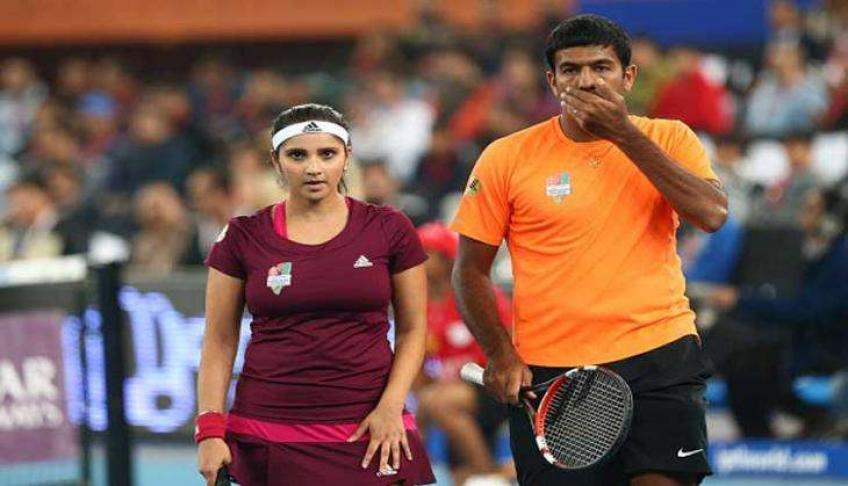 Sania Mirza and Rohan Bopanna To Team Up for Australian Open Mixed Doubles