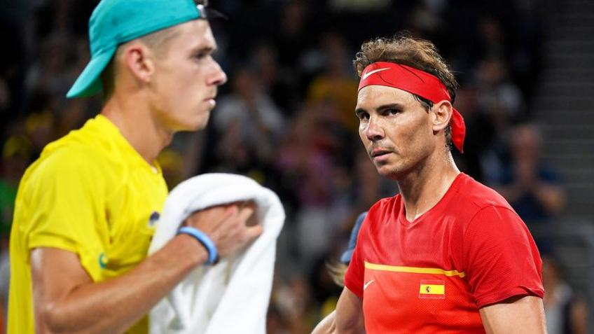 Lleyton Hewitt: Alex de Minaur took it to Rafael Nadal