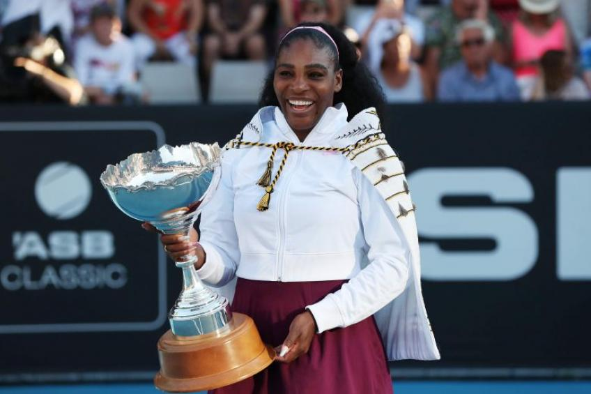 Serena Williams Auckland title -- Her win is everyone's gain