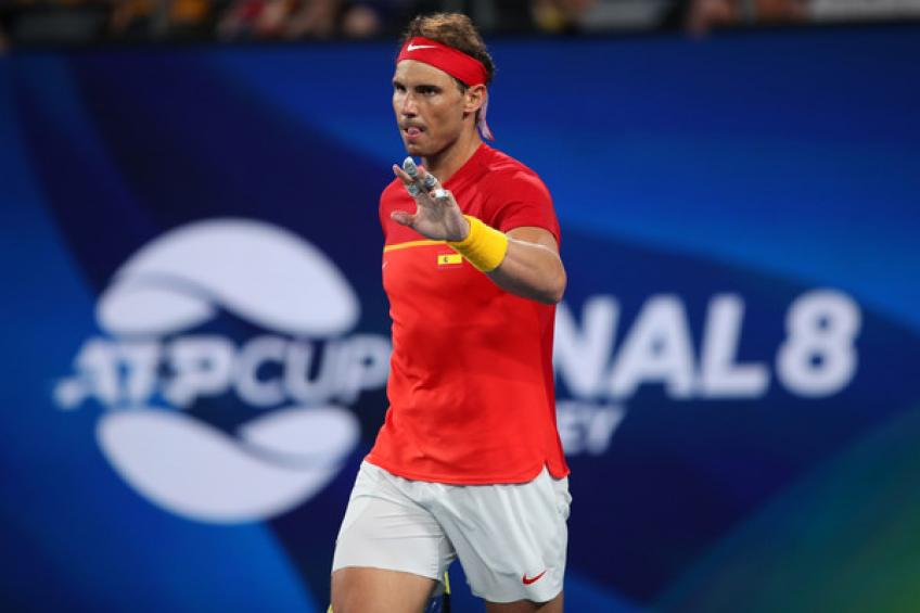 Rafael Nadal reveals the reason for skipping doubles match vs. Serbia