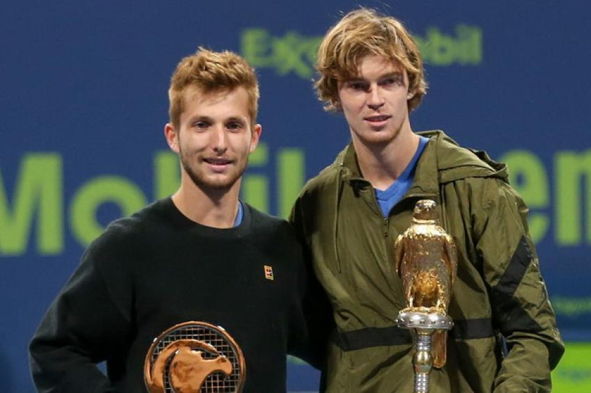 Andrey Rublev: 'Corentin Moutet has a bright future if he continues..'