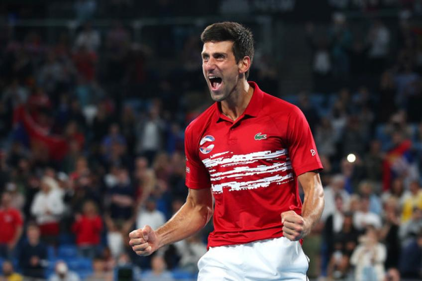 Djokovic: 'Young guns will try to beat Roger Federer, Rafael Nadal and me'