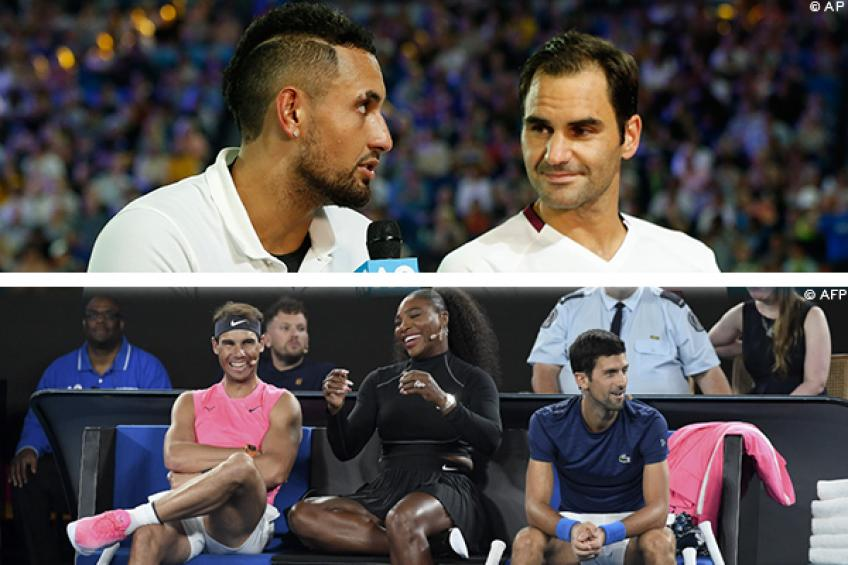 Federer, Nadal seem sure all will be OK at Australian Open