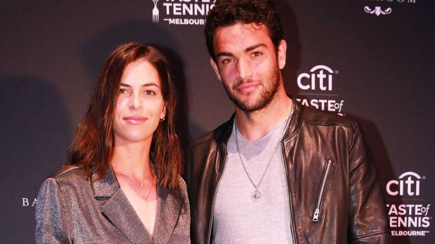 Ajla Tomljanovic & Matteo Berrettini Step Out for the Citi Taste of Tennis