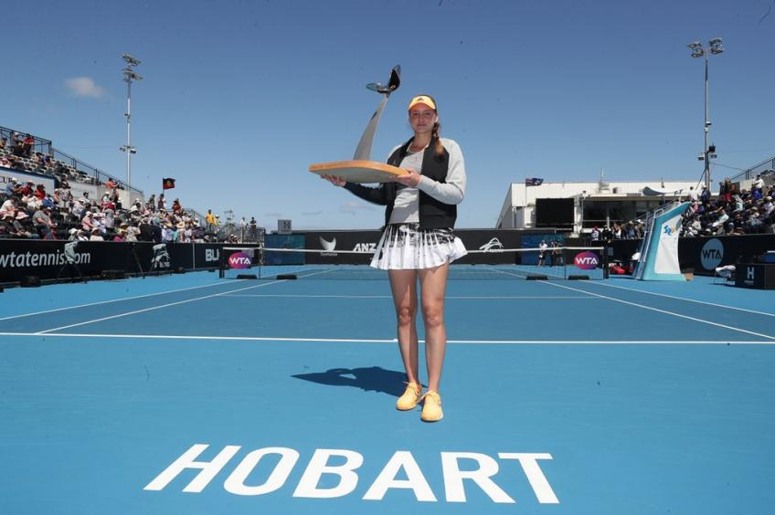 Hobart: Elena Rybakina claims 2nd career title with win over Shuai Zhang