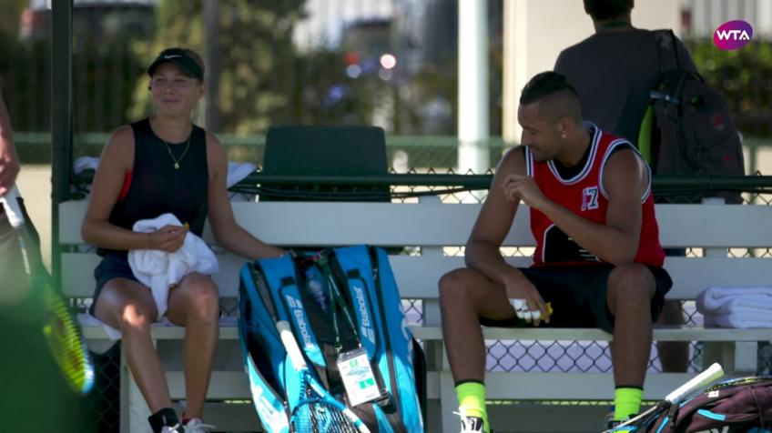 Nick Kyrgios Chose Partner for Mixed Doubles at the Australian Open
