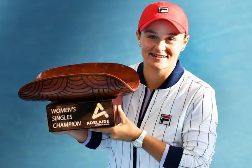 Ashleigh Barty: 'Winning Adelaide title was the best preparation for Melbourne'